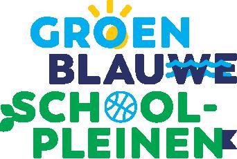 Groenblauwe Schoolpleinen